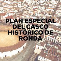 Plan Especial Casco Histórico de Ronda